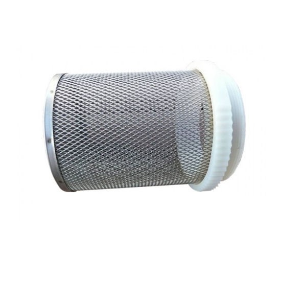 Stainless steel pipe filter cage filter pipe cages for Pond filter pipe
