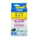 API 5 in 1 Test Kit Strips