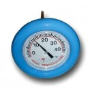 Big Blue Wheel Floating Thermometer