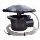 Deep Sump Bottom Drain With Rubber Dome Aerator