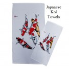 Japanese Koi Towels
