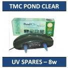 TMC Pond Clear 8w - Spares List